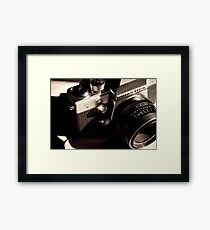 35mm Camera Framed Print