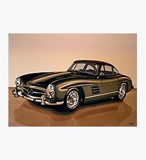 Mercedes Benz 300 SL Painting Photographic Print