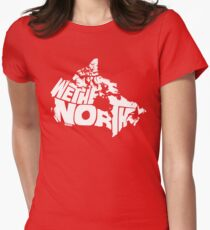 We The North (White) Womens Fitted T-Shirt