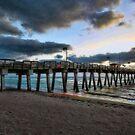 Sharkey's Pier -- Venice,  Florida by T.J. Martin