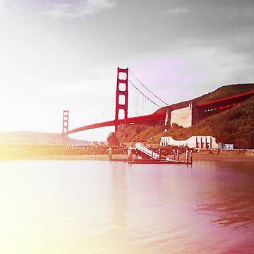 The Golden Gate Bridge by merlinemrys