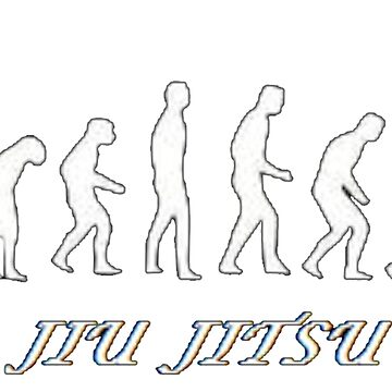 Jiu jitsu evolution by MonkeyDAla