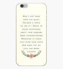 Fülle die Stille iPhone-Hülle & Cover