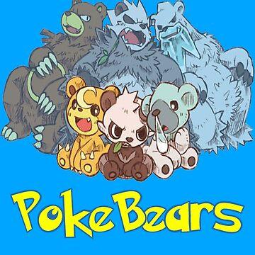 PokeBears by Kitsuneace