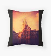City Hall of Phiadelphia Throw Pillow