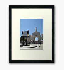 Los Angeles Coliseum Framed Print