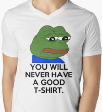 Feels Bad Man Men's V-Neck T-Shirt