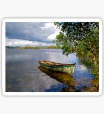 Peaceful moment in Connemara Sticker