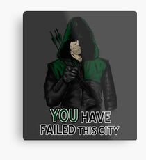 Failed This City Metal Print