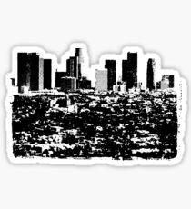 Los Angeles Skyline Stamp  Sticker