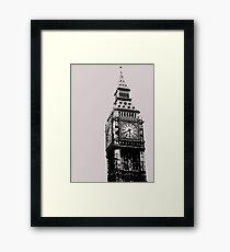 Big Ben - Palace of Westminster, London Framed Print