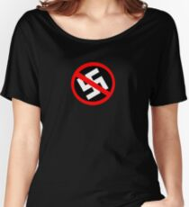 Nazi Punks Fuck Off! Women's Relaxed Fit T-Shirt