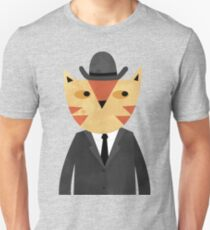 Ginger Cat in a Bowler Hat T-Shirt