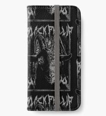 Black Metal Phillip iPhone Wallet/Case/Skin