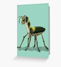 Crawler  Greeting Card