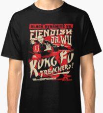 Black Dynamite vs. Teuflischer Dr. Wu Classic T-Shirt