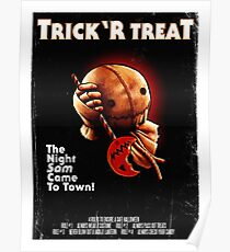 Trick 'r Treat Halloween Poster Poster