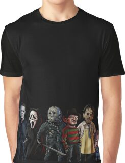 Slasher Squad Graphic T-Shirt