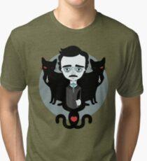Edgar Allan Poe T-shirt chiné