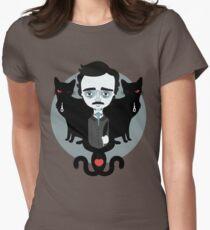 Edgar Allan Poe T-shirt col V femme