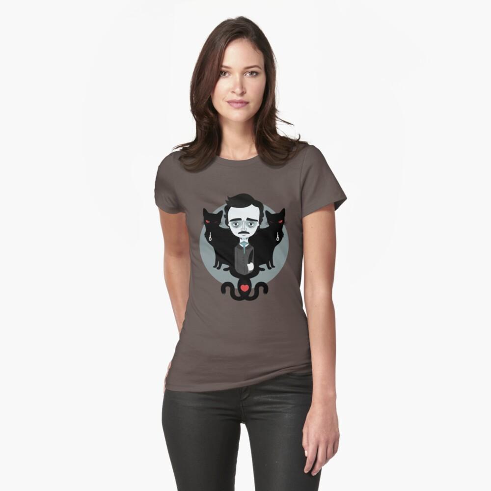 Edgar Allan Poe Womens T-Shirt Front