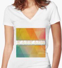 Kaskade Women's Fitted V-Neck T-Shirt