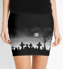 Necropolis in the Mist Mini Skirt