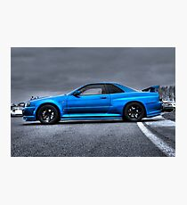 The Blue Ghost Photographic Print