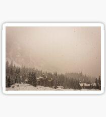 Alpental Blizzard Sticker