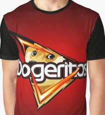 "Doritos ""Dogeritos"" Doge Logo Graphic T-Shirt"