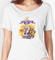 Retro Music Party Poster Women's Relaxed Fit T-Shirt