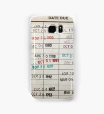 Library Cards Samsung Galaxy Case/Skin