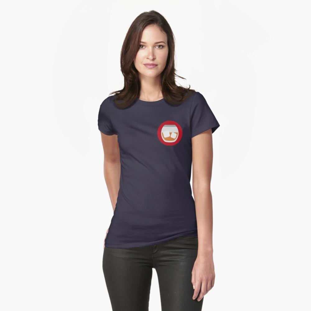 Verrückte Männer Icon V2 Tailliertes T-Shirt