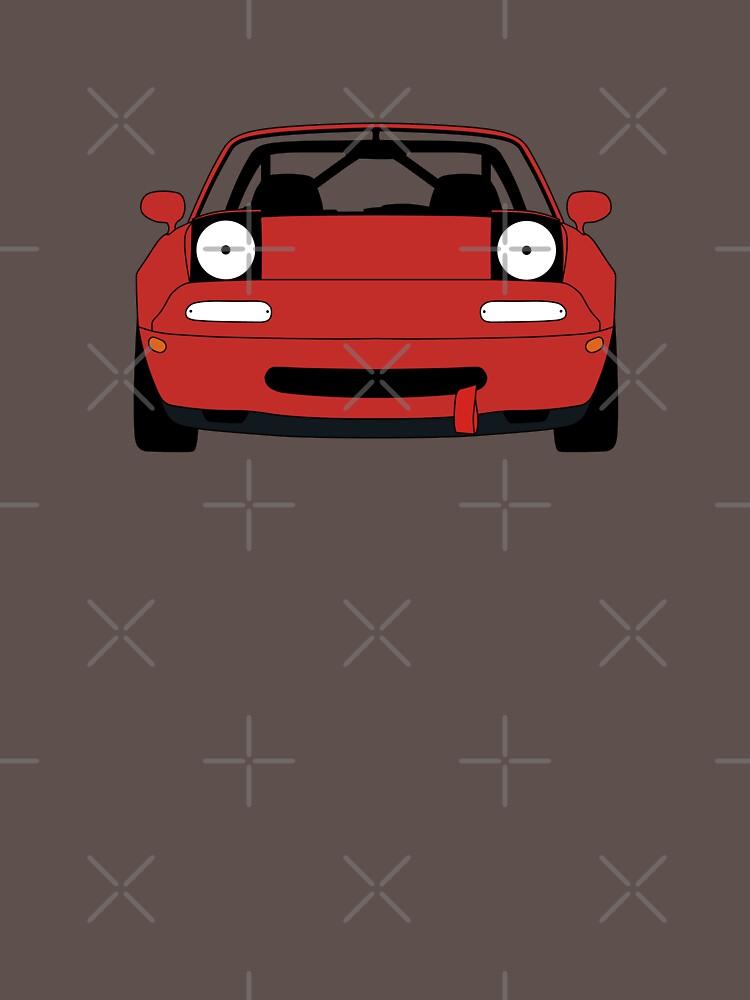 Miata Racecar by AutomotiveArt