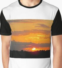 Sun Making A Funny Face Graphic T-Shirt