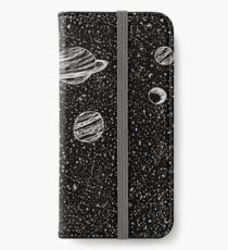 Black Space iPhone Wallet/Case/Skin