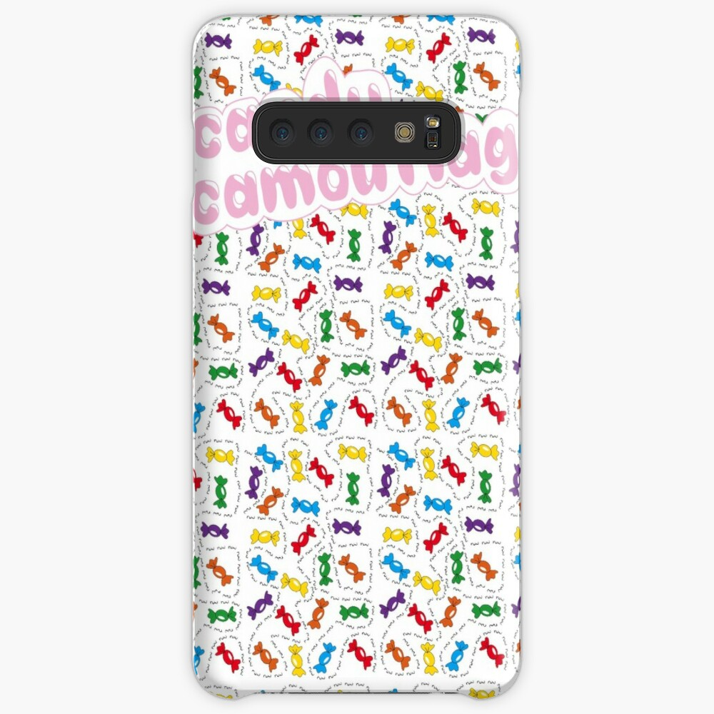 Candy Camouflage Case & Skin for Samsung Galaxy