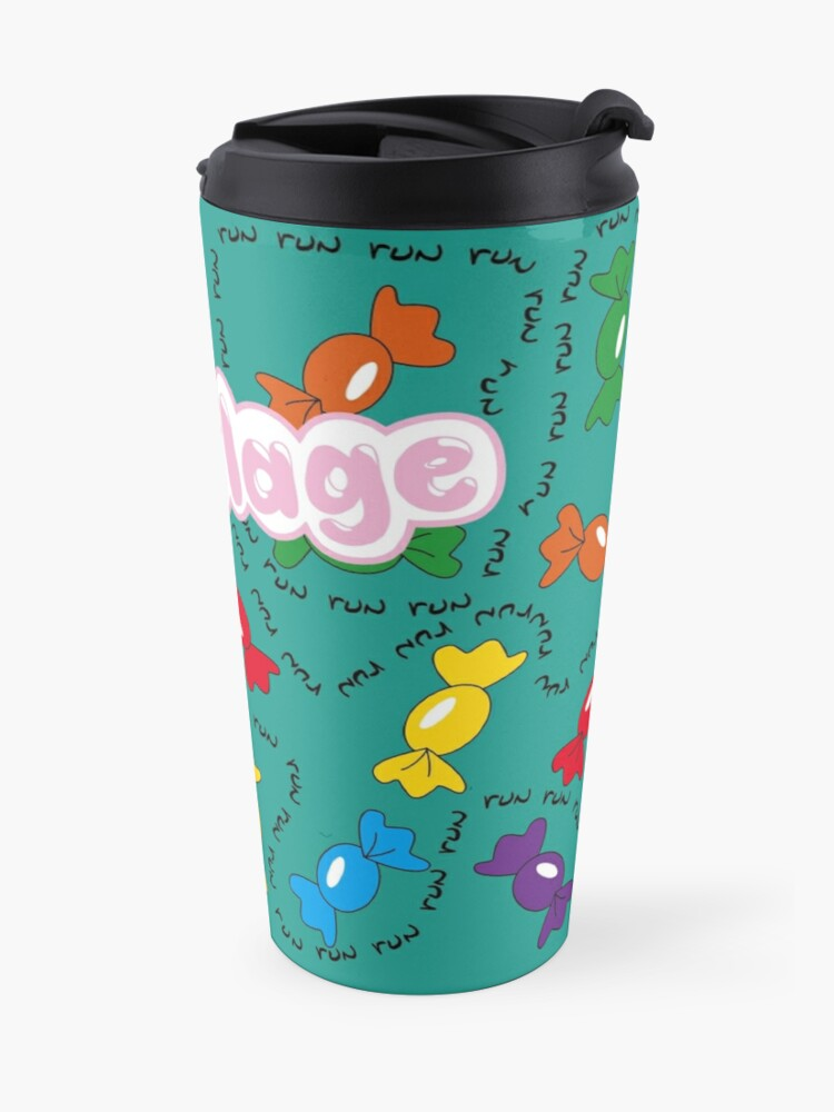 Alternate view of Candy Camouflage Travel Mug