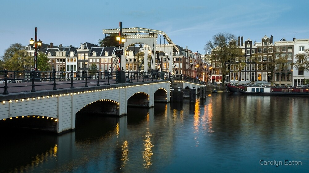 Magere Brug Amsterdam by Carolyn Eaton