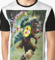 Pow Wow Dancer Graphic T-Shirt
