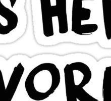 G-Eazy Is Her Favorite Rapper - Loaded Lyrics Sticker
