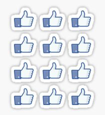 Facebook Daumen hoch Sticker