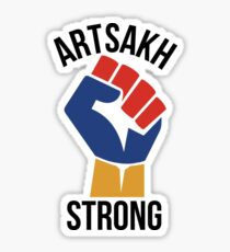 Artsakh Strong - Armenia Sticker