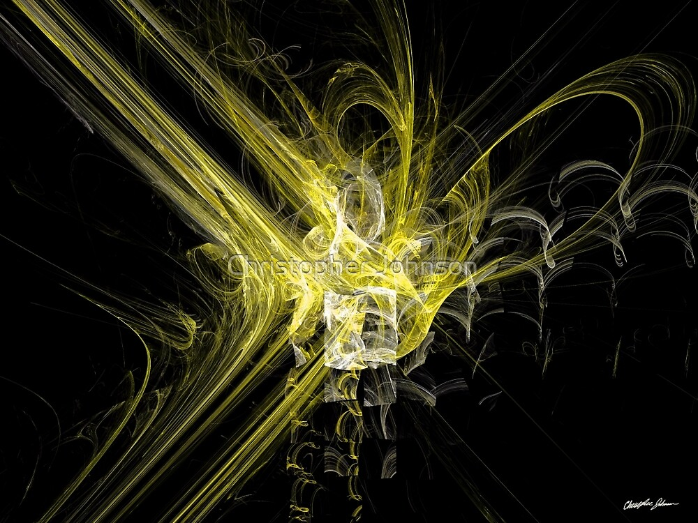 Rupture Yellow by Christopher Johnson