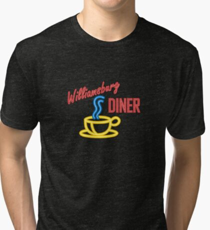 Williamsburg Diner Tri-blend T-Shirt