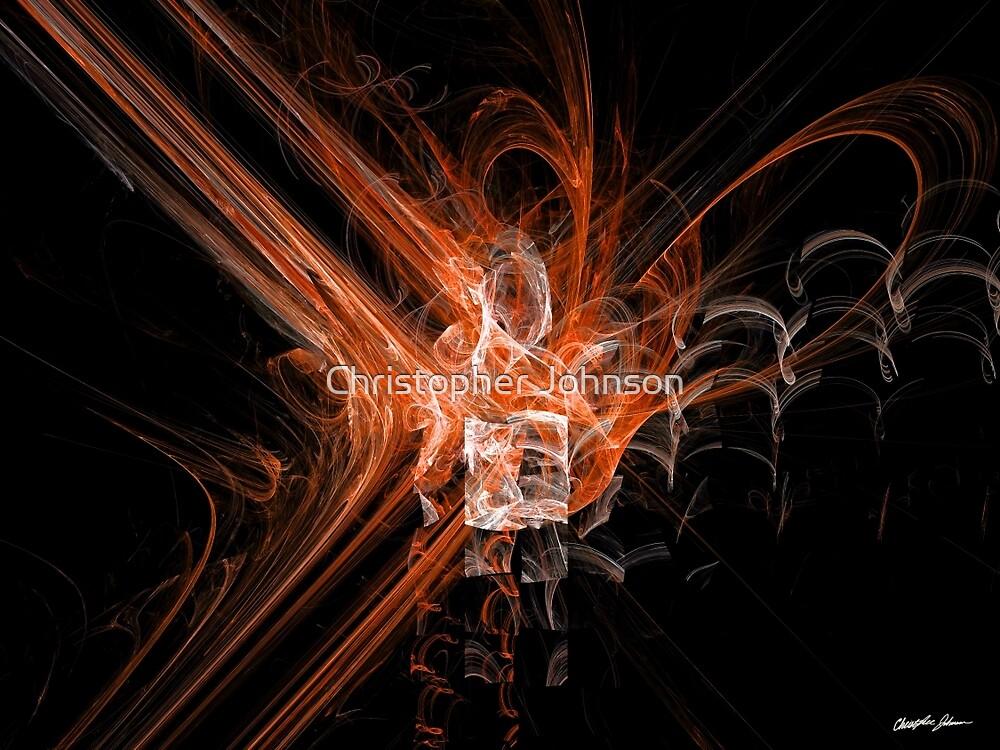 Rupture Orange by Christopher Johnson