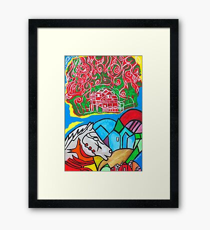 Sweet Escape Framed Print