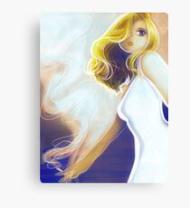 Blonde Cigarette Canvas Print