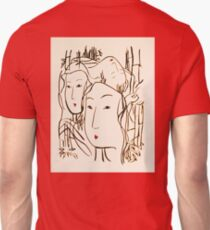 Japanese Bamboo Forest Unisex T-Shirt