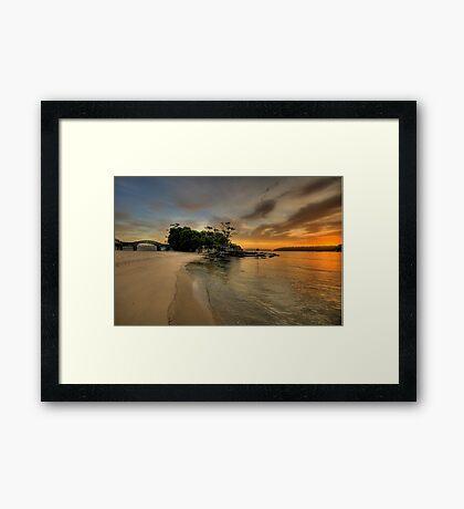 Balmoral Dreaming - Balmoral Beach - The HDR Series Framed Print